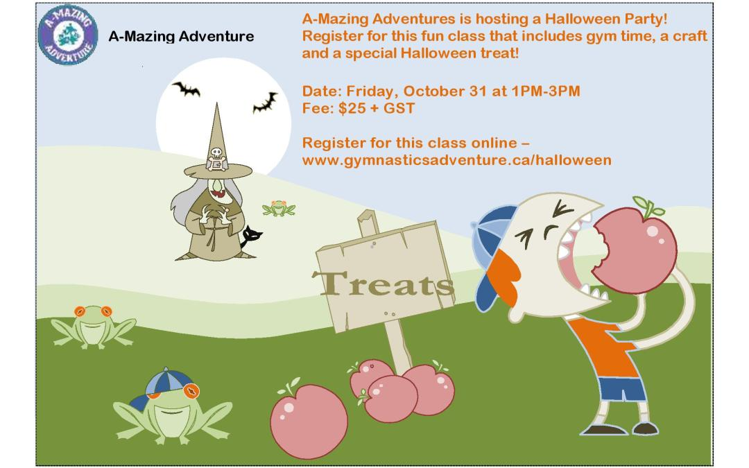 A-Mazing Adventures Halloween Party