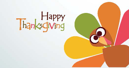 Closed for Thanksgiving Holiday – Monday, October 8th