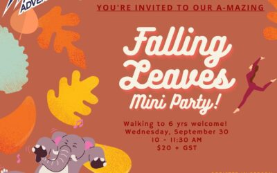 Mini Adventures – Falling Leaves Party
