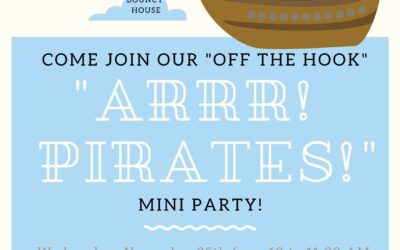 Mini Adventures – Arrr Pirates! Mini Party
